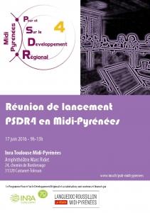 Lancement PSDR4