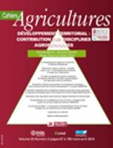 couverture Cahiers Agricultures