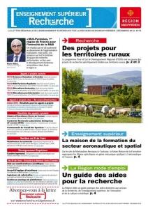 Couverture lettre ESR Région Midi-Pyrénées