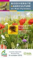 """Page de couverture de la brochure 2015 """"Biodiversité et argiculture"""""""