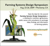 logo colloque  Farming systems design, Methodologies for integrated analysis on farm production systems