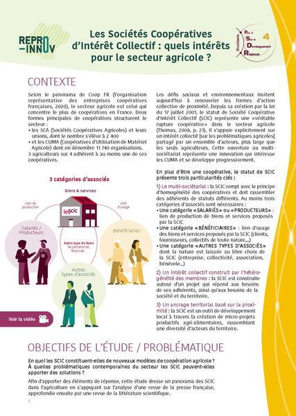 Focus SCIC agricoles page1