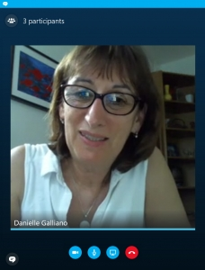 Danielle Galliano en visio