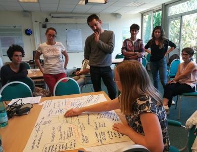 Les chercheurs d'ATA-RI partagent et construisent