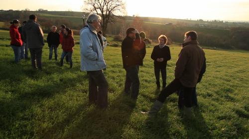 journée d'échanges entre éleveurs et accompagnants