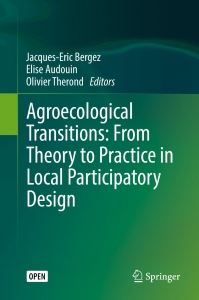 Page de garde de l'ouvrage Agroecological transitions: from theory to practice in local participatory design