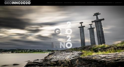 GEOINNO 2020 en Norvège