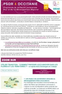 Extrait de la lettre d'information PSDR4 Occitanie N°5