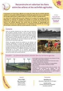 Focus ArbresAgriculture